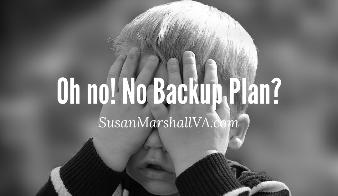 do you have a WordPress website backup plan