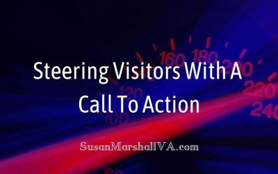 A Call To Action For Steering Visitors
